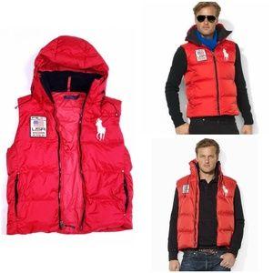 Polo Ralph Lauren Big Pony Ski Puffer Vest